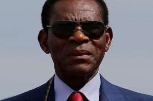 Le président équato-guinéen, Teodoro Obiang Nguema Mbasogo, à Santa Cruz, en Bolivie, le 22novembre 2017. Crédits : David Mercado / REUTERS