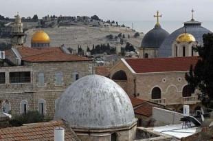 © afp.com/THOMAS COEX Vue partielle de la Vieille ville de Jérusalem, le 19 décembre 2017