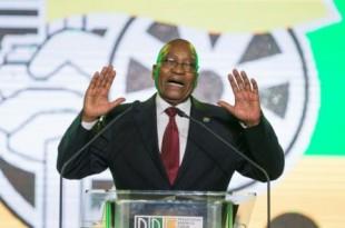 Le président sud-africain Jacob Zuma a conclu samedi son règne très controversé de dix ans à la tête du Congrès national africain (ANC) en déplorant le déclin et les divisions du parti au pouvoir depuis 1994, qui s'apprête à choisir son successeur. ©  © AFP / WIKUS DE WET