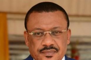 Basile Atangana Kouna, ministre camerounais de l'Eau et de l'Energie. © Droits réservés