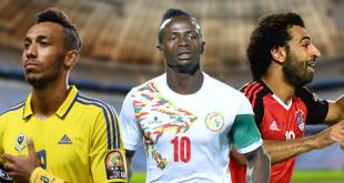 Qui sera désigné Joueur africain de l'année 2017 entre Aubameyang, Mané et Salah ? AFP