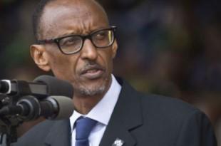Le président rwandais Paul Kagame, lors des commémorations du génocide des Tutsis au Rwanda, en 2014 à Kigali. © Ben Curtis/AP/SIPA