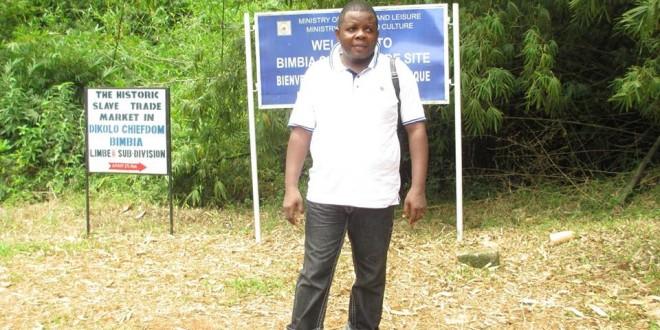 Enseignant au département d'histoire de l'Université de Douala