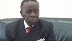 Le ministre de l'enseignement supérieur Jacques Fame NDONGO