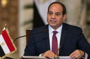Le président égyptien, Abdel Fattah al-Sissi, lors d'une conférence de presse au Caire, le 11 décembre 2017. Crédits : REUTERS