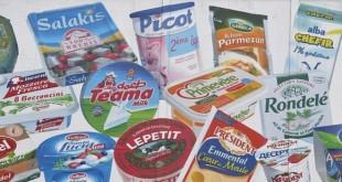 Des produits du groupe laitier français Lactalis.