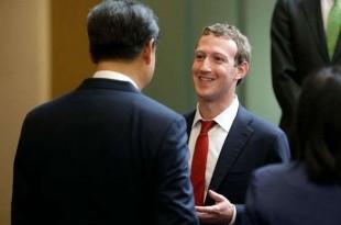 """© afp.com/TED S. WARREN Mark Zuckerberg, ici le 23 septembre 2015 à Washington, veut garantir le """"bien-être"""" des internautes."""