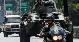© JUAN BARRETO/AFP L'armée vénézuélienne était mobilisée ce lundi pour capturer Oscar Perez.