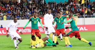 Le Cameroun s'est créé plusieurs occasions face au Congo, le 16 janvier 2018. Photo: Pierre René-Worms /RFI