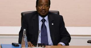 Le président camerounais Paul Biya à Paris, le 12 décembre 2017 afp.com - LUDOVIC MARIN