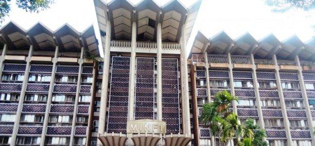 Siège du ministère des finances dans la capitale camerounaise, Yaoundé. (Crédits : DR.)