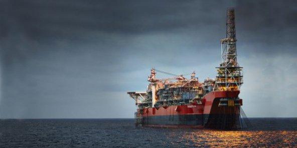 Le pétrolier PSVM de BP, au nord-est du bloc 31, au large de l'Angola, un pays devenu clé pour les grands du secteur. © RICHARD DAVIES/BP