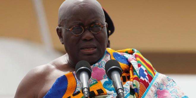 Le facilitateur au dialogue, Nana Akufo-Addo, président du Ghana, est arrivé ce dimanche après-midi dans la capitale togolaise (photo d'archives). © REUTERS/Luc Gnago