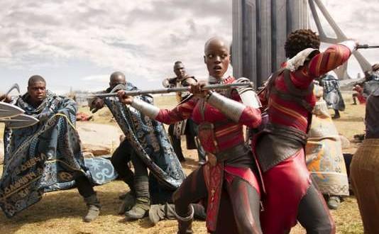 Marvel Studios' BLACK PANTHER..Ayo (Florence Kasumba)..Ph: Film Frame..©Marvel Studios 2018