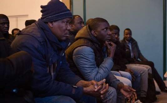 Siège de la CGT, Montreuil, 11 février 2018. Réunion préparatoire de la grève lancée le 12 afin de régulariser les sans papiers de 6 entreprises de la région parisienne.