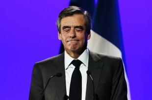 François Fillon, à Caen le 16 mars 2017 Crédit : CHARLY TRIBALLEAU / AFP