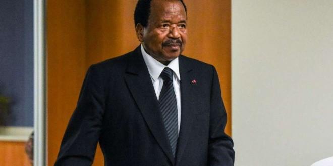 Paul Biya, 72è Assemblée générale de l'ONU, New York, le 22 septembre 2017.