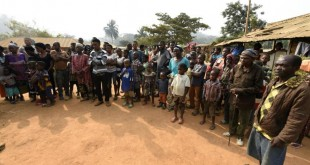 Des réfugiés camerounais anglophones dans le village de Bashu-Okpambe au Nigeria, le 31 janvier 2018 afp.com - PIUS UTOMI EKPEI