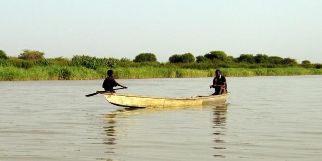 Le changement climatique, aggravé par une très mauvaise gestion des ressources hydrauliques au fil des ans, a conduit à la disparition de 90% de la surface du lac Tchad en 40 ans. © Shashank Bengali/MCT/MCT via Getty Images