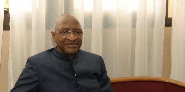Soumeylou Boubèye Maiga à Bamako le 25 Mai 2013. © DAOU Bakary Emmanuel pour JA
