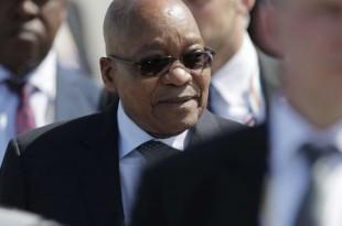 Le président sud-africain Jacob Zuma à Hamburg, en Allemagne, en juillet 2017. © Markus Schreiber/AP/SIPA