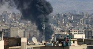"""© Copyright 2018, L'Obs Le régime syrien a condamné lundi """"l'occupation turque"""" de la ville d'Afrine (nord-ouest)."""