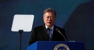 Le président sud-coréen Moon Jae-in à Séoul, le 1er mars 2018.