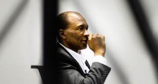 Thierry Michel Atangana, le 21 octobre, au siège de Jeune Afrique. © Paul Mesnager pour Jeune Afrique