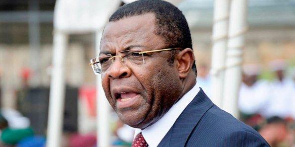 Edgar Alain Mebe Ngo'o, ex-ministre camerounais des Transports. ©  DR