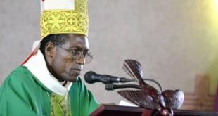 Mgr Jean-Marie-Benoit Bala, dont le corps a été repêché le 2 juin dans la Sanaga. © Archidiocèse de Yaoundé