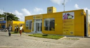 Agence MTN, à Cotonou, en novembre 2017. © Jacques Torregano pour JA