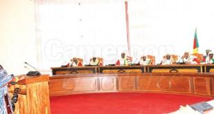 Audience au Conseil constitutionnel