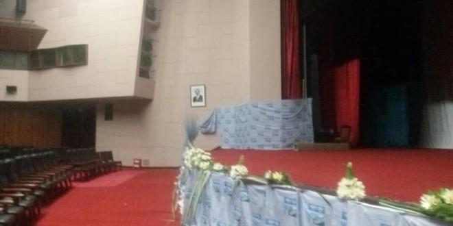 Mme Awasou Mispa, nouvelle présidente du directoire national des femmes, lors de son discours de campagne (c)journalducameroun.com