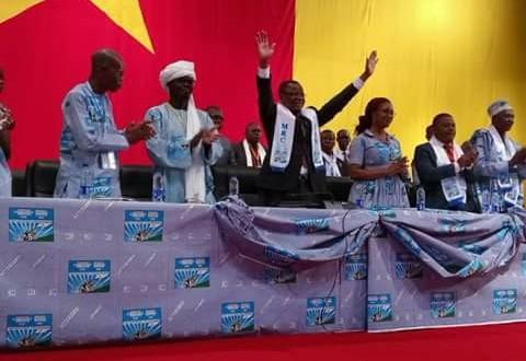 Maurice Kamto, candidat à la présidentielle pour le MRC