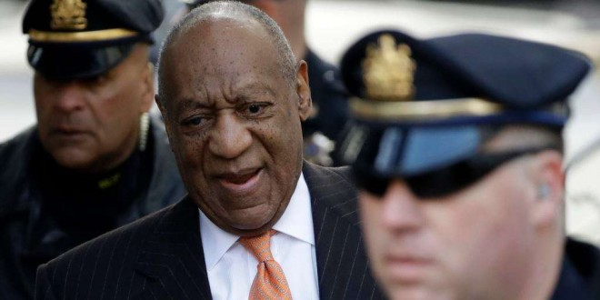Bill Cosby arrivant au tribunal, Norristown, Pennsylvanie, le 10 avril 2018.