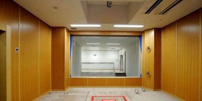 Chambre d'execution d'une prison de Tokyo, Japon, le 27 août 2010