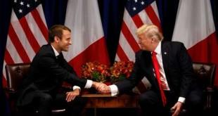 Emmanuel Macron défend l'accord du nucléaire iranien chez Trump