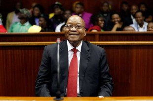 Former South African president Jacob Zuma appears at the KwaZulu-Natal High Court in Durban, South Africa April 6, 2018. Nic Bothma/Pool via Reuters