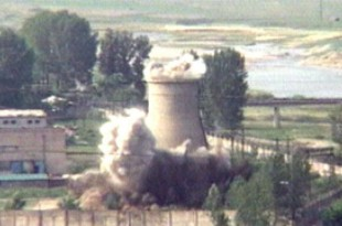 Complexe de réacteurs nucléaires à Yongbyon en Corée du Nord, 27 juin 2008 ( Archives)