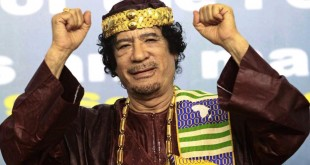 Mouammar Kadhafi à Tripoli, le 8 septembre 2010. © Reuters/Ismail Zitouny/Files