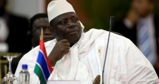 Yahya Jammeh (image d'illustration). Selon des ONG, les migrants ont bien été massacrés par les «junglers», la milice qui recevait ses ordres directement de l'ancien président gambien. © REUTERS/Carlos Garcia Rawlins/Files