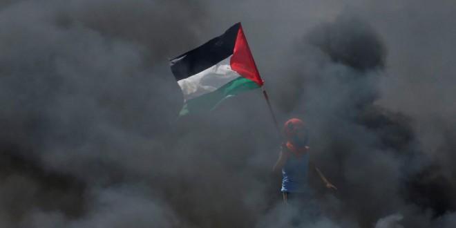 La bande de Gaza a été le théâtre de heurts meurtriers lundi 14 mai 2018. © REUTERS/Mohammed Salem