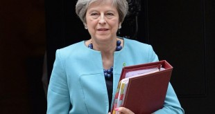 Theresa May, Premier ministre britannique