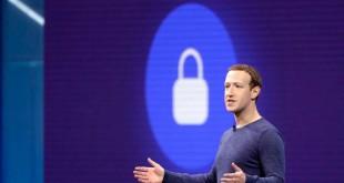 Le PDG de Facebook, Mark Zuckerberg, le 1er mai 2018, à San Jose, en Californie.