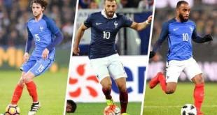 Les grands absents des Bleus pour le mondial 2018