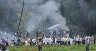 DIAPOSITIVES © Adalberto Roque, AFP Les débris du Boeing 737 qui s'est écrasé près de l'aéroport de Cuba, le 18 mai 2018.