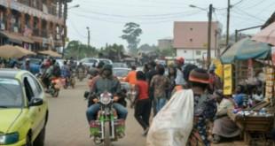 Le marché de Bamenda, capitale du Nord-Ouest du Cameroun, le 15 novembre 2017. © Reinnier KAZE/AFP