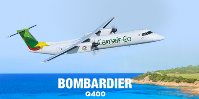 Un avion Bombardier de Camer-co