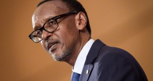 Le président rwandais Paul Kagame lors de l'Assemblée mondiale de la santé à Genève, le 21 mai 2018. © Fabrice COFFRINI / AFP