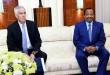 Peter Henry Barlerin, ambassadeur des Etas-Unis au Cameroun reçu par le président Paul Biya au palais de l'Unité